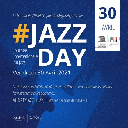 Anya a célébré la Journée Internationale du Jazz #JAZZDAY